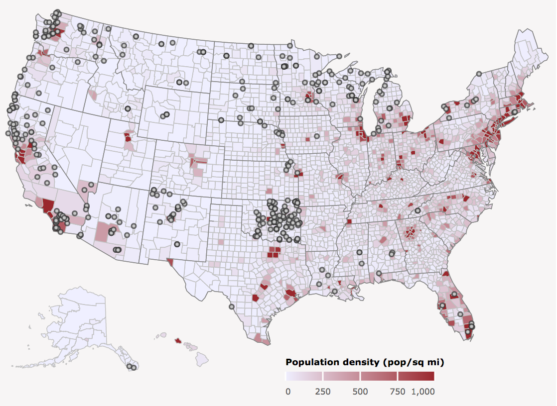 American Economic Association - Map of us tribal lands