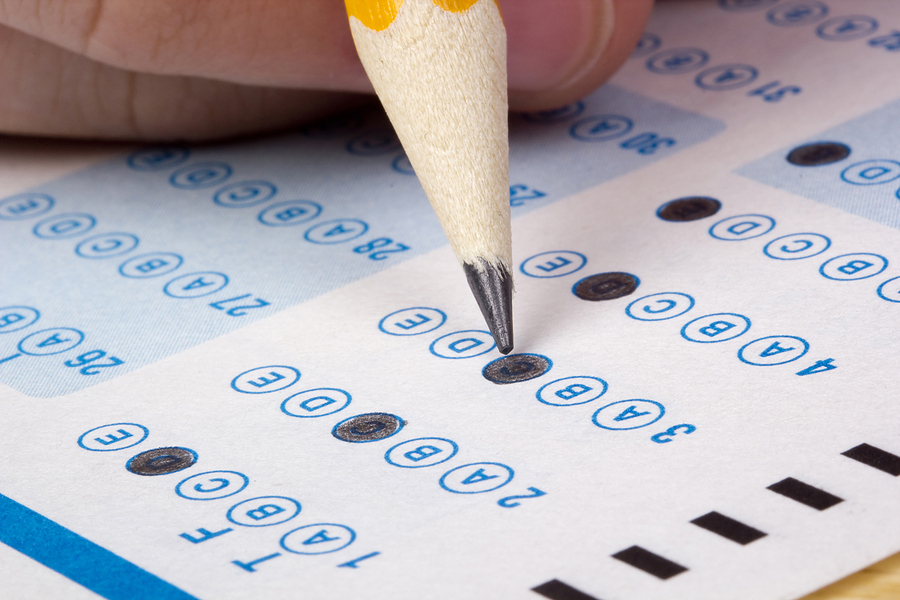 How do college exams differ from high school exams?